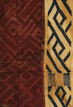 Kuba Royal Raffia Textile NTSHAKABWIIN Overskirt African - Kuba Raffia Textiles - Textiles