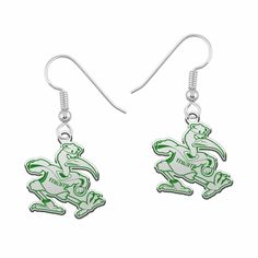 university of miami coloring pages - miami hurricanes football dangle charm university of