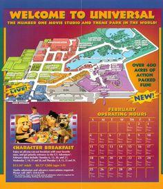 Universal Studios Florida brochure