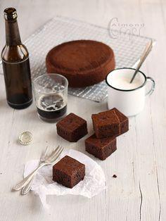 simple chocolate stout cake.