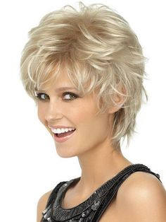 Spiky Cut Wig Hairdo (5% Rebate) Short Shag Textured Layers Heat Friendly