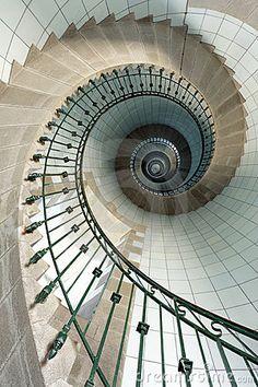 Escalera Del Faro Imagenes de archivo - Imagen: 15999404