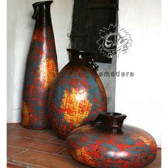 Jarres poteries terre cuite décoration d'intérieur