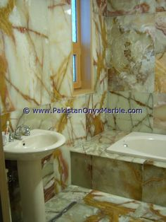 Onyx Marble, Bathroom Countertops, Green Onyx, Corner Bathtub, High Gloss, Sink, Instagram Posts, Furniture, Design