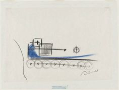 """Church on the Water, Tomamu, Hokkaido, Japan, Plan and sketch  Tadao Ando (Japanese, born 1941)    Unknown. Crayon on mulberry paper, 12 1/8 x 17 1/2"""" (30.8 x 44.5 cm). Gift of the architect"""