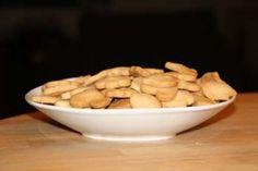 Zandkoekjes 1-2-3 Vergeet niet vanillesuiker en een snuf zout.