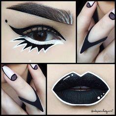 @depechegurl #beautifullmakeup #makeup #creative #oktaviotorres