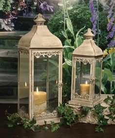 Look at this Brookwood Lantern Set on #zulily today!