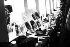 Backstage at Jonathan Saunders | Fall 2014 RTW london fashion week backstage