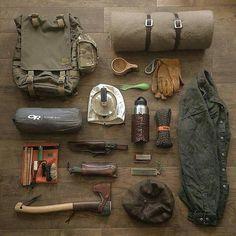 - survival and bushcraft Bushcraft Camping, Bushcraft Equipment, Bushcraft Backpack, Bushcraft Skills, Bushcraft Gear, Camping Tools, Survival Equipment, Camping Survival, Camping Equipment