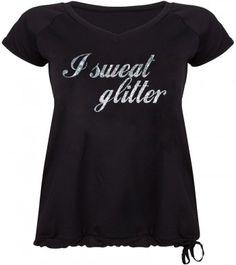 Grote Maten Shirt I Sweat Glitter