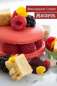 "Bachour-inspired dessert ""nailed it or failed it"" series - This week we're making delicious mascarpone cream macaron served with almond pistachio cake and berries. Such a great flavor combo and elegant dessert. Delicious Desserts, Dessert Recipes, Elegant Desserts, Small Desserts, Pistachio Cake, Dessert For Two, Star Cakes, Piece Of Cakes, Savoury Cake"