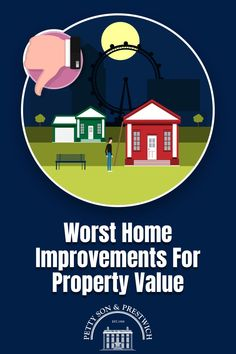 "If you're thinking of selling your property in the not too distant future, you might be considering which home improvements you can make in order to achieve a higher sales price once you go to market. The Internet is awash with ""best"" articles, but what about the worst home improvements? Which projects should you actively avoid if putting your home up for sale is on the horizon? We lay them out for you right here. #homeimprovements #propertyvalue #property"