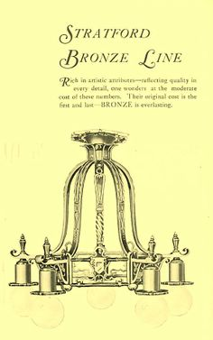 Original ad for glenn mcfadden chandelier - Google Search