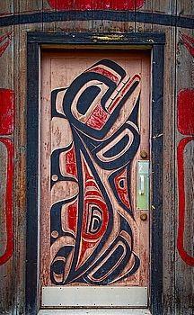 Door - Hazelton, British Columbia, Canada
