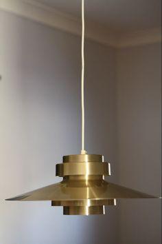 Danish pendant light.