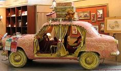 Ever thought of having a full car in your living room?
