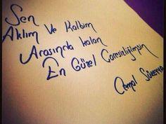 Sen aklım ve kalbim arasında kalan en güzel çaresizliğimsin. -Cemal Süreya  www.love.gen.tr #aşk #sevgi