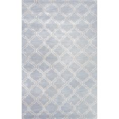 Baroque Collection Hampton Rug in Sky Blue by Jaipur