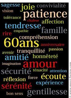 """Men/'s blue /& gold Sixty raisons de célébrer/"""" 60th/"""" Anniversaire Carte"""