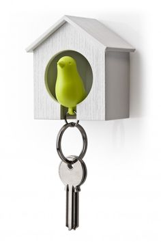 Sparrow Keyring - Schlüsselanhänger und Trillerpfeife – Qualy – Bild 11