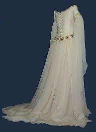 Brides Gowns Handfastings Weddings An Ethereal Unashamedly Handfasting Gown Loosely Based On