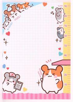 kawaii hamster doctor Memo