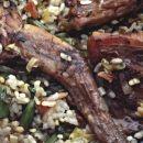 Arroz con conejo,uno de los platos estrella de la cocina mallorquina.