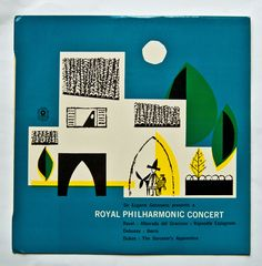 Royal Philharmonic vintage album cover