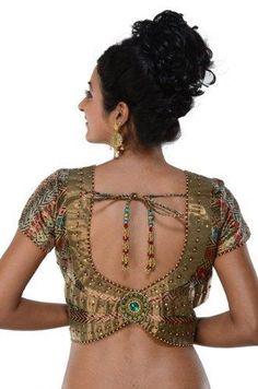 Indian Sari #blouse choli #top