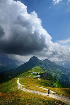 Männlichen, Berner Oberland, Switzerland