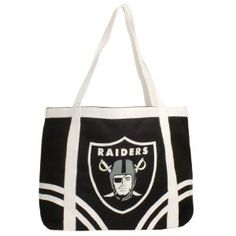 NFL Oakland Raiders Canvas Tailgate Tote (Sports)  http://www.amazon.com/dp/B002Q9GG9M/?tag=worldshouts-20  B002Q9GG9M