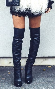 Nikka over the knee boots