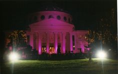 """""""In October wear pink, the symbol of hope"""" . Every year on the of October many important monuments and buildings in cities around the globe are iluminated in pink, as a symbol of ho… Hope Symbol, Four Seasons, Colours, Ceiling Lights, Stickers, Pink, Gifts, Monuments, Cities"""