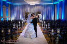 Wedding Ceremony Decorations Hotels | Ceremony at Peabody Hotel in Orlando with A Chair Affair black ...