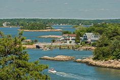 Thimble Islands, CT: do this tour along the coast of Branford/Guilford CT