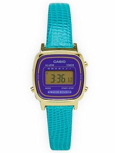 Lizard Green Leather Limited Edition Wristwatch #AmericanApparel