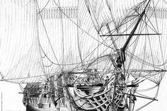 Passionné par la mer et les bateaux du début du 19ème siècle, Franck Bonnet nous offre une saga corsaire aux odeurs d'embruns avec sa bande ...
