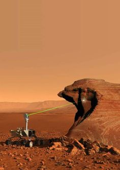 Mars rover armed with laser to zap rocks - Technology & science - Space - Space.com - NBCNews.com