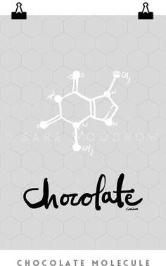 Chololate_Molecule | Sara Woodrow