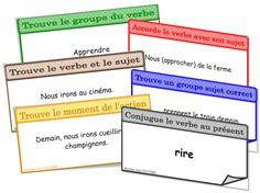 CE2 : jeu conjugaison grammaire - IPOTÂME ....TÂME