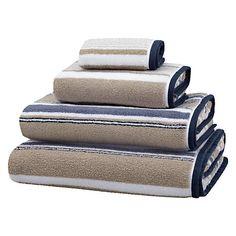 Buy John Lewis Coastal Tabletop Stripe Towels Online at johnlewis.com