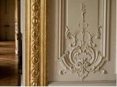 Versailles door paneling