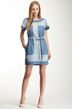 Shadow Denim Dress on HauteLook