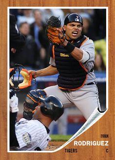 Old Baseball Cards, Rangers Baseball, Led Zeppelin, Puerto Rico, Mlb, Tigers, Athletes, Sports, Design