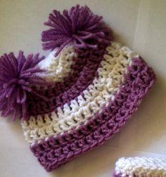 Basic Earflap Beanie Free Crochet Pattern