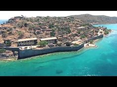 """Spinalonga / Flying Over """" The Island """" with Drone!! / Crete/ Greece - YouTube"""