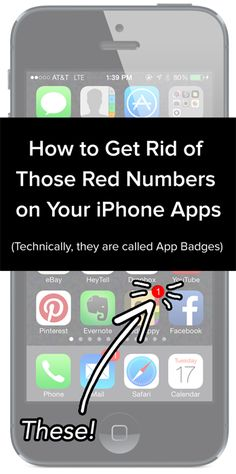 How to Get Rid of Those Red Numbers on Your iPhone Apps {by WeddingHappy - Wedding Planning App}