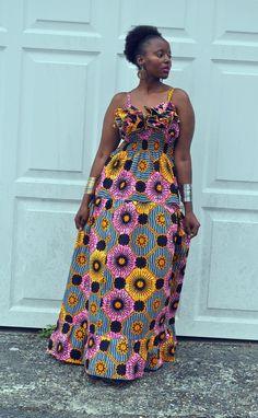 Easy fitness 737957088912707516 - AMEENA Maxi dress Source by elyseebokula Ankara Short Gown Styles, Short African Dresses, Latest African Fashion Dresses, African Print Dresses, African Inspired Fashion, African Print Fashion, Moda Afro, African Attire, The Dress