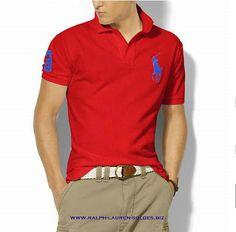 576257d145135 ralph lauren factory outlet, Ralph Lauren Classic-Fit Big Pony Polo  Red blue,polo ralph lauren for cheap, polo ralph lauren swimwear top brands